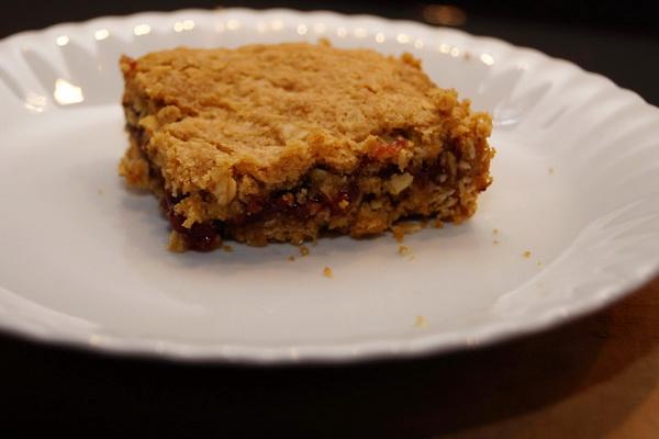 Malinowo – owsiane ciasteczka
