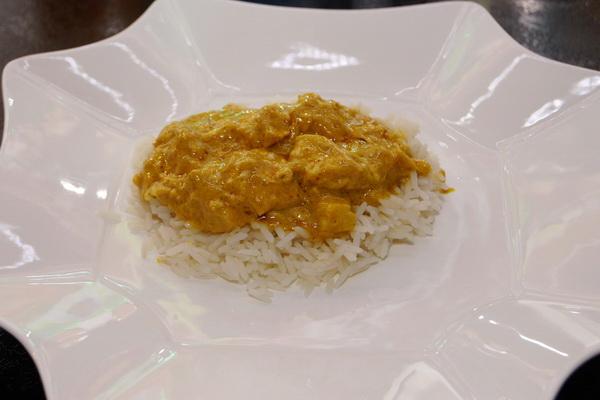 Prosty indyk curry