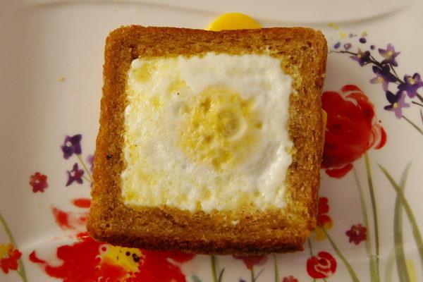 Jajko w toście